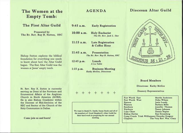 altar guild assembly